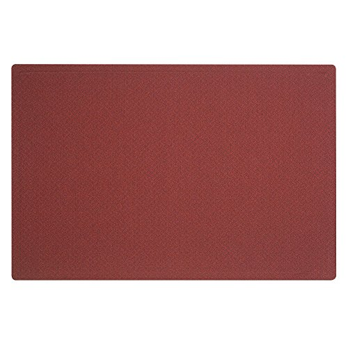 (Quartet Fabric Bulletin Board, 4' x 3', Frameless, Oval Office, Burgundy (7684PB))