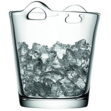 LSA International G259-19-991 Bar Ice Bucket, 7.5 , Clear