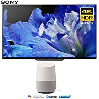 Sony XBR55A8F 55-Inch 4K Ultra HD Smart BRAVIA OLED TV (2018 Model) with Google Home (White)