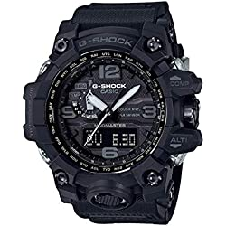 Men's Casio G-Shock Triple Sensor Mudmaster Black Watch GWG1000-1A1