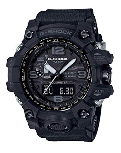 Men's Casio G-Shock Triple Sensor Mudmaster Black Watch GWG1000-1A1 (Best G Shock Mudmaster)