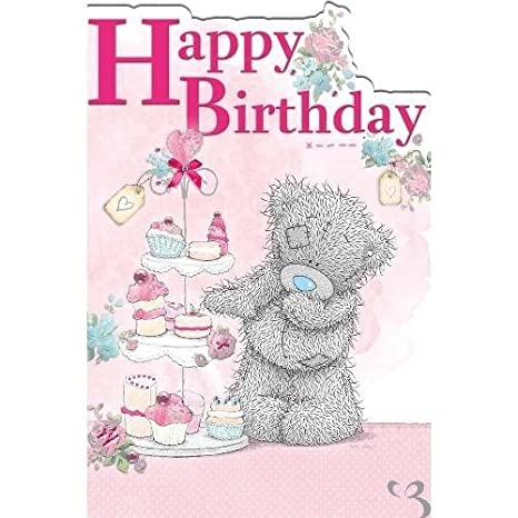 Blue nose bear birthday images