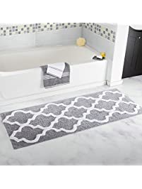 homcomoda microfiber bathroom shower rug geometric bath mats washable kitchen floor mats1772 by - Bathroom Mats