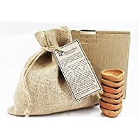 EKAM EK - Christmas Natural Handmade Beautiful hand crafted terracotta diyas set of 30 pcs in a unique gift pack for Christmas, Diwali, Christmas and other auspicious Occasion made by Highly Skilled artisans.
