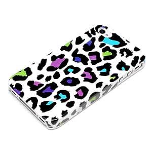 deinPhone AR-200253 - Carcasa para Apple iPhone 4 4S, diseño de leopardo