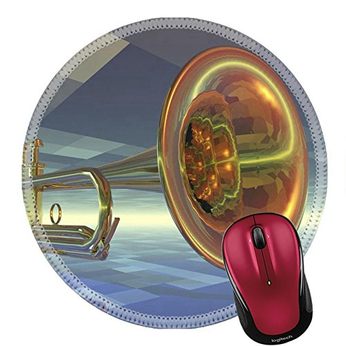 Liili Round Mouse Pad Natural Rubber Mousepad IMAGE ID: 21708281 digital visualization of a ()