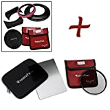 WonderPana FreeArc Essential CPL 0.9HE Kit - Core Filter Holder, Lens Cap, 66 Brackets, 0.9 Hard Edge Grad ND and 145mm CPL Filters for Sony FE 12-24mm f/4 G E-Mount Lens
