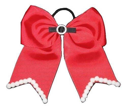 Embellished Bow Kids Festive Bow Girls Hairbows Christmas Bow Christmas Gift Santa Bow Hairbows for Girls Christmas Gifts for Friends