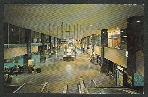 Greyhound Bus Terminal Chicago IL postcard 1966 at Amazon's