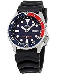 Divers Navy Dial Rubber Strap Mens Watch SKX009P9