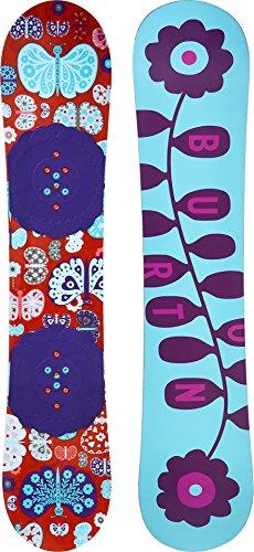 Burton Kids Women's Chicklet '16 130 Multi 130 Burton Twin Tip Snowboard