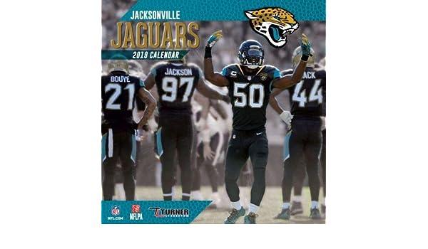 5226cdfb773 Amazon.com  2019 Jacksonville JAGUARS NFL Sports TEAM Wall Calendar   Everything Else