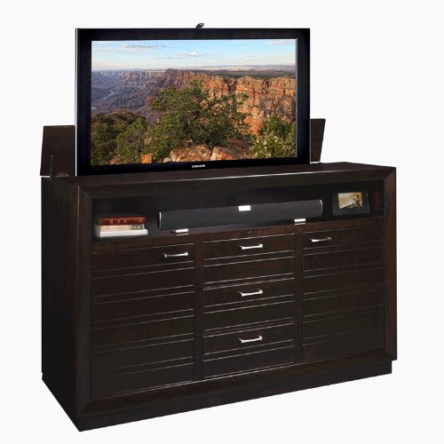 TV Lift Cabinet AT006313 Concord TV Lift Cabinet (Espresso) by TVLIFTCABINET, Inc