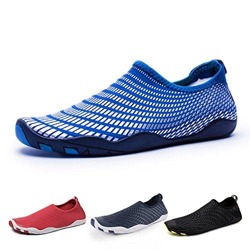Yoga Plage Bateau Plage Blau mer Surf GZ séchage Chaussures Jardin Marcher Schwimmschuhe Unisexe Rapide Chaussures Parc Aquatiques Chaussures Conduire Aqua Chaussons Homme Femme Nautique wa0R6q