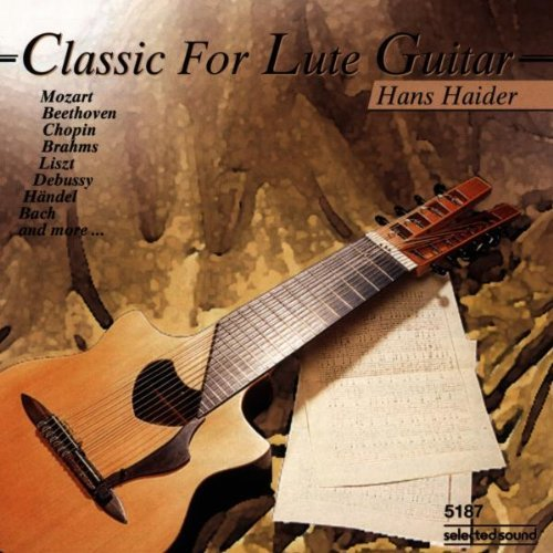 Classic For Lute Guitar by hans Haider (1996-04-22)