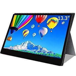 モバイルモニター モバイルディスプレイ cocopar 13.3インチ スイッチ用モニター 非光沢ノングレアIPSパネル