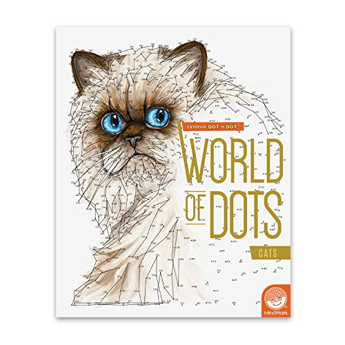 MindWare Extreme Dot to Dot World of Dots: (Cats)