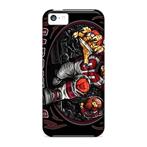 DannyLCHEUNG Iphone 5c Best Hard Cell-phone Case Support Personal Customs Fashion Arizona Cardinals Pattern [Tof18370CzHI]