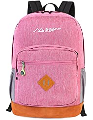 Summit Glory Travel Gear2 Water Resistant Laptop Backpack 15.6 Inch-Compass Pull Tag
