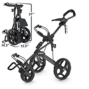 Clicgear Rovic RV3J Push Cart for Junior Golfers by Clicgear