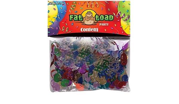 DDI 2277127 Fat Toad - Juego de 12 confeti, diseño de ...
