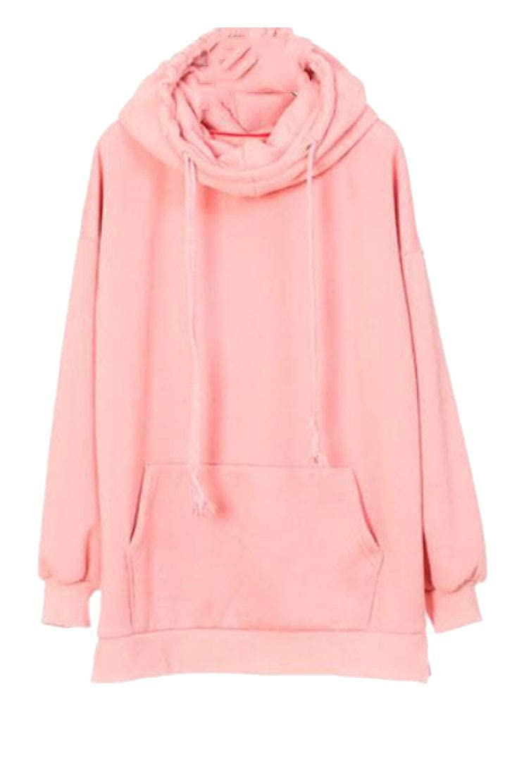 Sweatwater Womens Casual Long Sleeve Fleece Pullover Pocket Sweatshirts