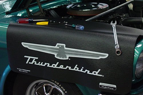 - CarBeyondStore Ford Thunderbird Black Grip Fender Cover