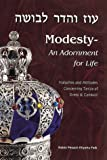 Modesty, Pesach Eliyahu Falk, 0873068742