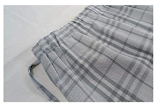 Grise Jupe Jupe Longue cossaise Haute S Longue Mi Jupe Mi Longue Taille Basse Haute JJNZD Mi Jupe Taille wYqdBtw