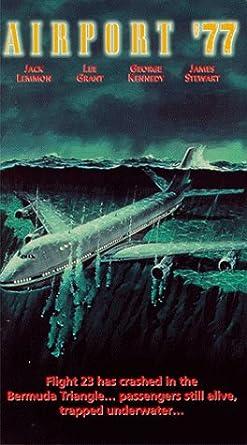 Amazon.com: Airport 77 [VHS]: Jack Lemmon, Lee Grant, Joseph ...