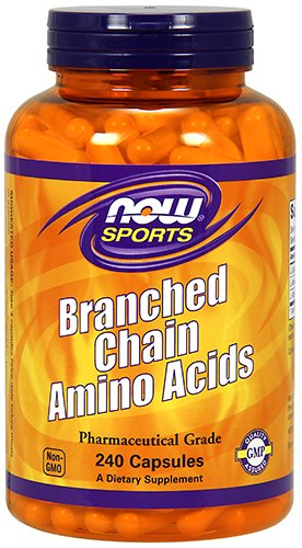 NOW Sports Branched Chain Amino Acids,240 Capsules