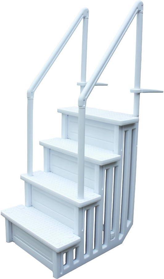 habitatetjardin Escalera Simple para Piscina: Amazon.es: Jardín