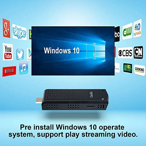 Mini PC Stick,Windows 10 Pro(64-bit) Intel Atom Z8350 Fanless Mini Computer 2GB DDR 32GB eMMC Support 4K HD,2.4G/5G WiFi,BT 4.2