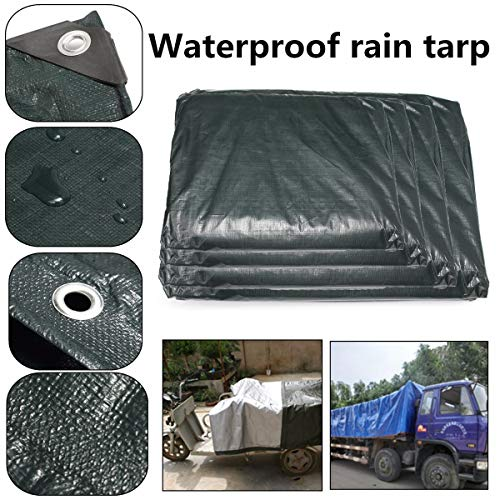 (Tarp Tent - 250gsm Car Vehicles Auto Tarpaulin Luggage Cover Canvas Pvc Sheet Roof Shelter Tent Canopy - Leather Tacks Banquet Armless Dorm 2014 Stretch Shopping Duty Accent Loose Teal Sea)