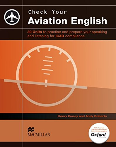 Check your Aviation English: For ICAO compliance / Student's Book with 3 Audio-CDs