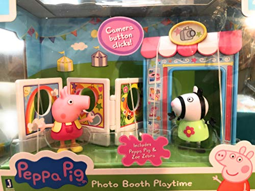 Peppa Pig Photo Booth Playtime with Peppa Pig & Zoe Zebra Figures