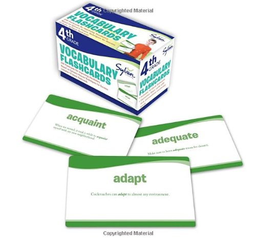 4th Grade Vocabulary Flashcards: 240 Flashcards for Improving ...