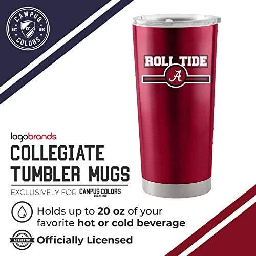 2-Pack Metallic Circles Insulated Tumbler Boelter NCAA 22 oz