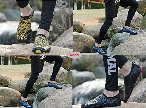 SAMI STUDIO Männer und Frauen Wasser Schuhe Leichte Durable Rolle Aqua Schuhe Geeignet Für Fahren Schwimmen Bootfahren Yoga Beach Surf Schwarz