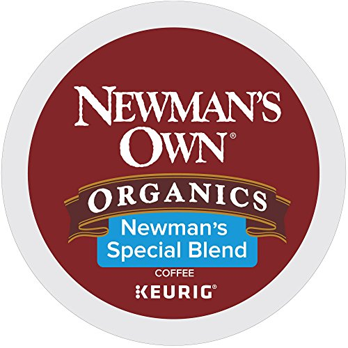 Newman's Own Organics K-cup Portion Pack for Keurig K-cup Brewers, Newman's Own Special Blend 80 - Stores Waterbury