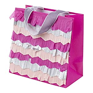 Hallmark Signature Small Gift Bag (Layered Tissue Fringe)