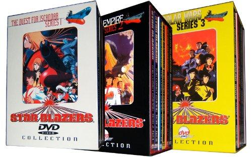 Star Blazers Complete 18 DVD Collectors Gift Set