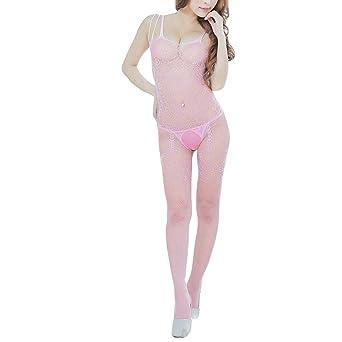 Masoness Frauen Sexy Fishnet Offene Gabelung Body Stocking Bodysuit Pure Farbe Perspektive Versuchung Nachtwäsche Dessous