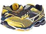 Mizuno Men's Wave Creation 17 Running Shoe (9.5 D(M) US, Cyber Yellow/Silver)