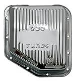 CHEVY/GM TURBO TH-200 STEEL TRANSMISSION PAN - CHROME