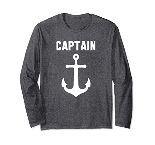 7d547cfd498 Amazon.com  Captain Anchor - Nautical Sailing Ship Shirt Ahoy  Clothing