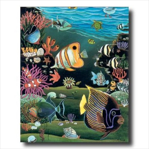 - Tropical Ocean Fish Exotic Coral Reef Animal Wildlife Wall Picture Art Print