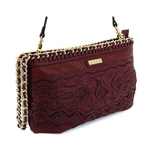 Borsa Scervino Street Cod. SCBPU0000048 Corine Rosso bag red borsetta donna outlet borse tracolla made in italy