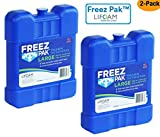 Lifoam Freez Pak 4942 Large Reusable Ice Pack 42 Ounce, Pack of 2