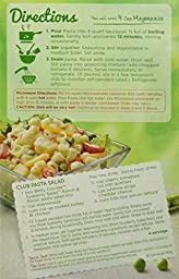 Betty Crocker, Suddenly Salad, Pasta Ranch & Bacon, 7.5oz Box (Pack of 4)